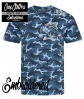 003 EMBROIDERED CAMO T-SHIRT